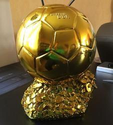 2014 Ballon D'OR Trophy untuk Dijual Resin Pemain Terbaik Mr Football trophy Trophy Awards Emas Bola Sepak Bola 15