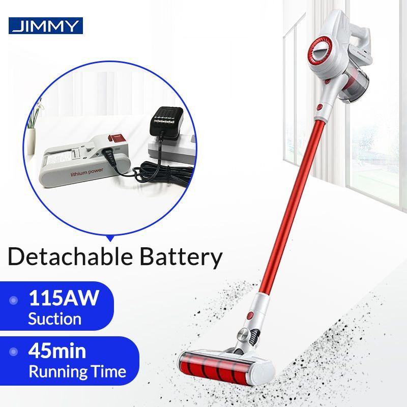 JIMMY JV51 Handheld Cordless Staubsauger Tragbare Drahtlose Zyklon Filter Mi Teppich Staub Collector Kehr Saubere Hause
