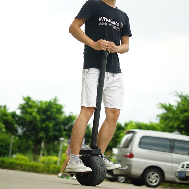 2017 Newest private model 10 inch one wheel Balance hover board with handle bar single wheel electric scooter hover board