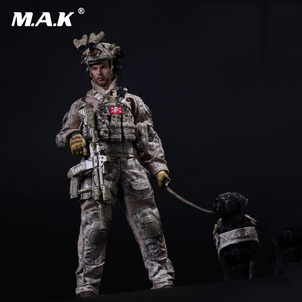 1/6 US Navy SEAL Team Six DEVGRU Halo Action Figure With DOG Colletible Model Toys