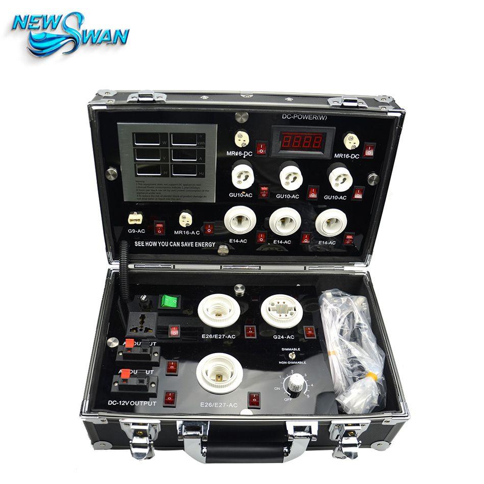 3521-7P LED Demo Case The high-end LED Digital Display Test Box LED Lighting Demo Box Led Show Case