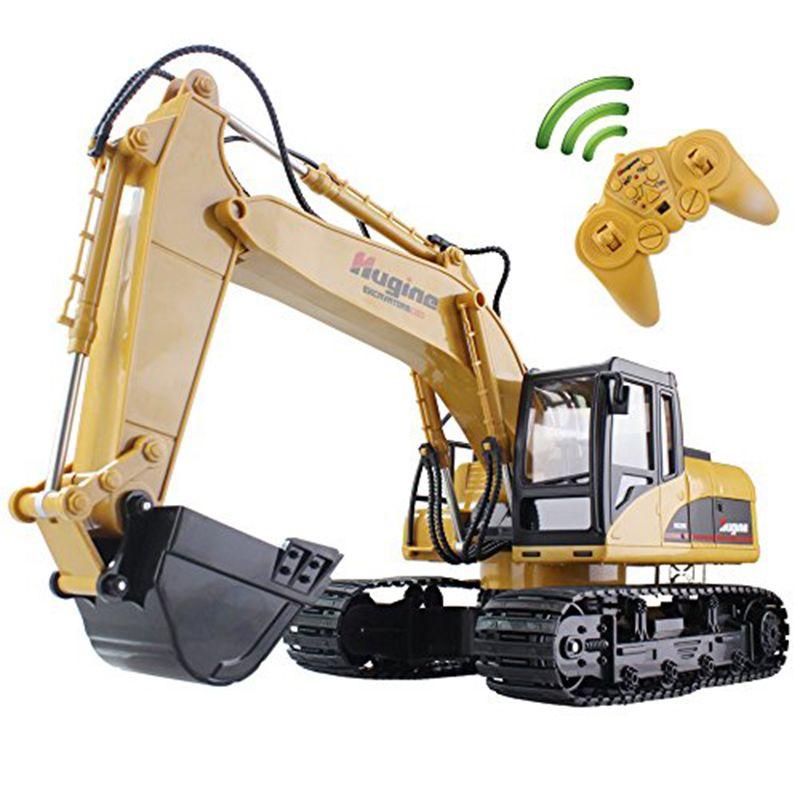RC Pelle 15CH 2.4G Télécommande La Construction De Camions Pelle Sur Chenilles Modèle Électronique Camion D'ingénierie Jouet