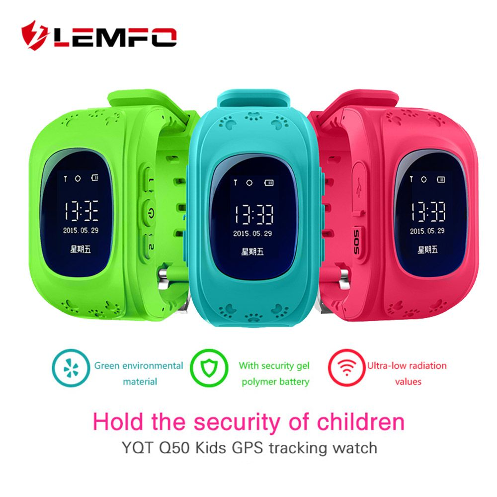Hot Q50 GPS Kids Watches Baby <font><b>Smart</b></font> Watch for Children SOS Call Location Finder Locator Tracker Anti Lost Monitor Smartwatch