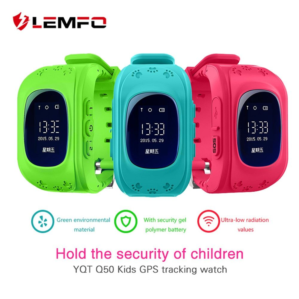 Hot Q50 GPS <font><b>Kids</b></font> Watches Baby Smart Watch for Children SOS Call Location Finder Locator Tracker Anti Lost Monitor Smartwatch