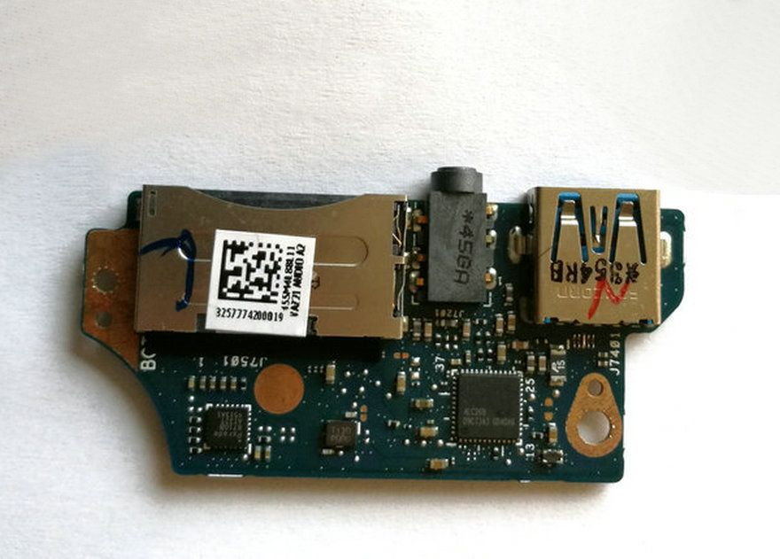 D'origine POUR UX31A 13.3 «USB Audio Lecteur de Carte Prise Conseil w/Câble 455M4L88L11 UX31A_AUDIO_BD 60-NIOAU1002-C01 LIVRAISON GRATUITE