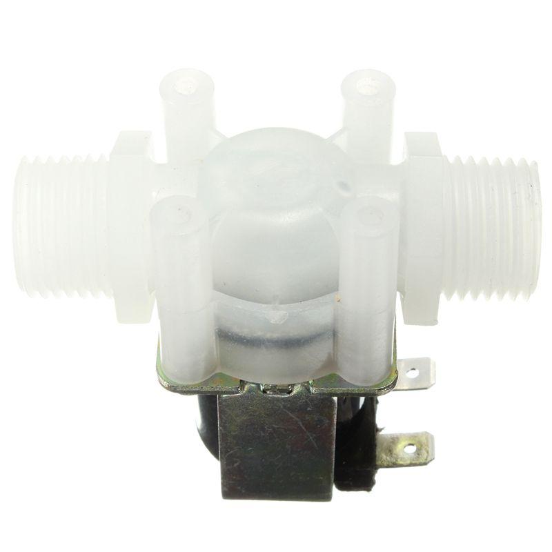 1/2 DC 12 V Elektrisches Magnetventil N/C Wasser Lufteinlass Strömungswächter Normalerweise Geschlossen 1/2 Zoll ventile