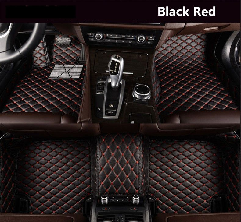For Hyundai Elantra 2016.2017.2018 Floor Mats Auto Foot Carpets Car Step Mats High Quality Brand New Embroidery Leather Mats