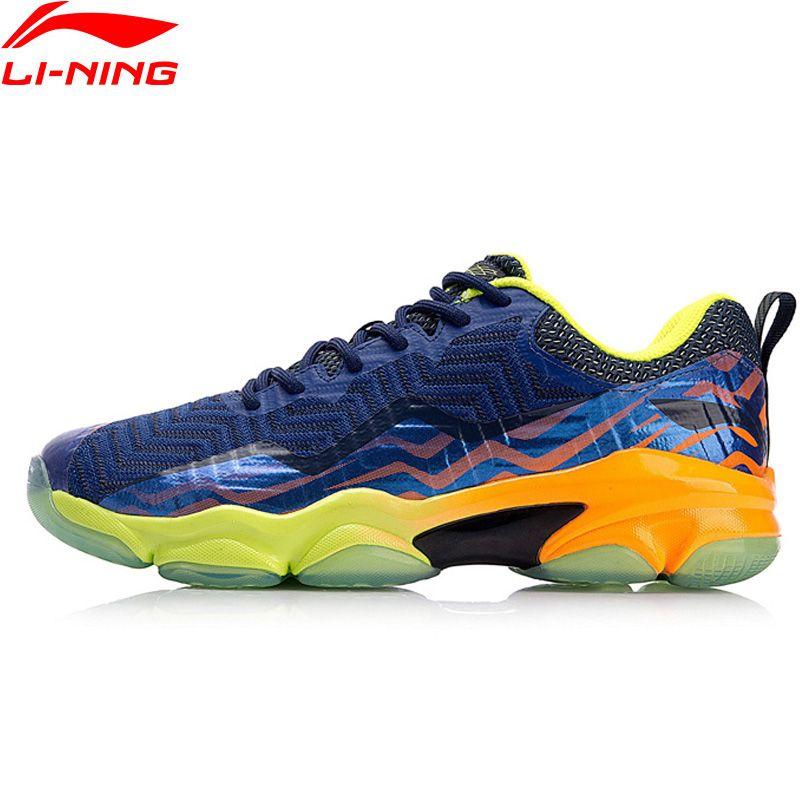 Li-Ning Männer SONIC BOOM STRICKEN Professionelle Badminton Schuhe LN BOUNSE + Kissen Futter Wearable Sport Schuhe Turnschuhe AYZN011 XYY073