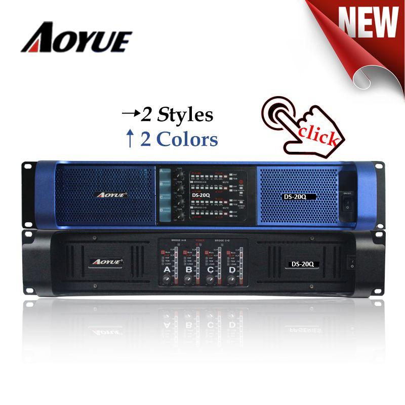 DS-20Q 4 Kanäle 4000 W 2200 W x 4 professional sound power verstärker für subwoofer
