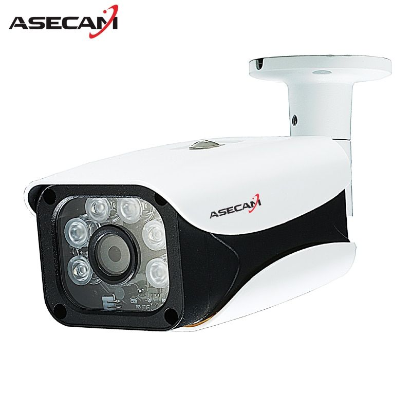 New HD IP Camera 1080P 48V poe Security Home CCTV IR Array Bullet Metal Waterproof Outdoor Onvif P2P Network Surveillance
