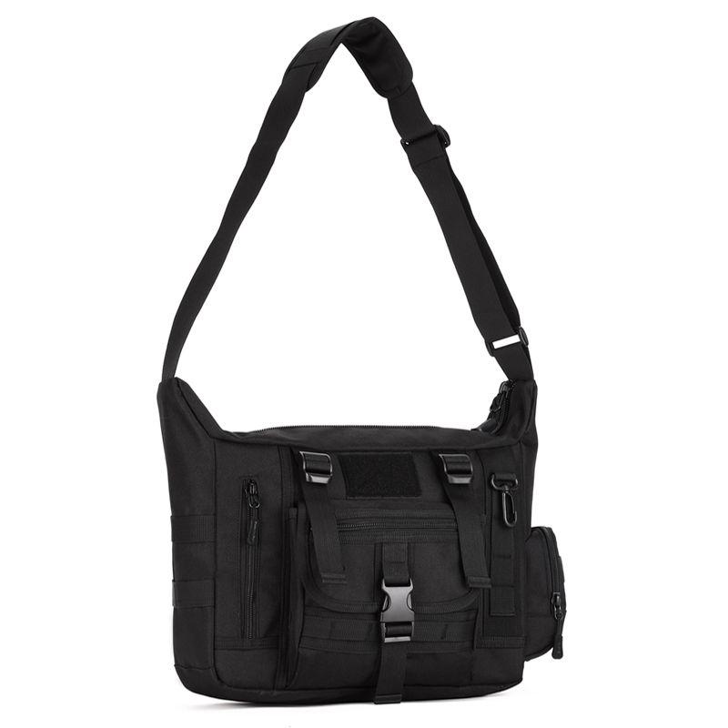 Waterproof Nylon Outdoor Crossbody Tactical Messenger Bag For 14 Inch Laptop Bag Camo Army Tactical Shoulder Bag Multi-use K308
