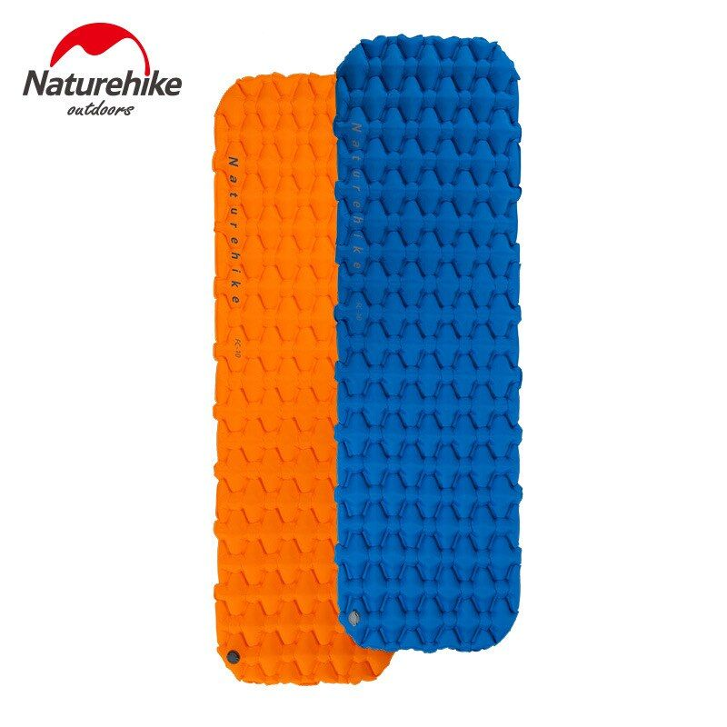 Naturehike Portable Outdoor Camping Hiking Single double Thicken Moisture-proof Inflatable Sleeping Mattress Mat Pad bed bag