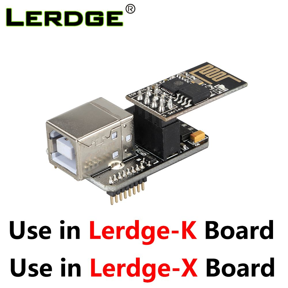 Lerdge-X Lerdge K 3D Printer Motherboard USB Link Module Computer Online Module WIFI Control Modules Function Extensible parts