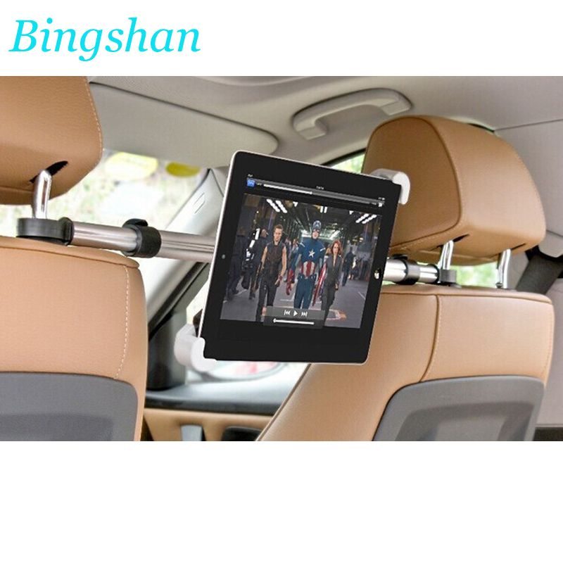 Tablet Car Holder Tablet PC holder For Car Headrest Mount Stands for aluminum tablets support for ipad sumsung xiaomi huawei