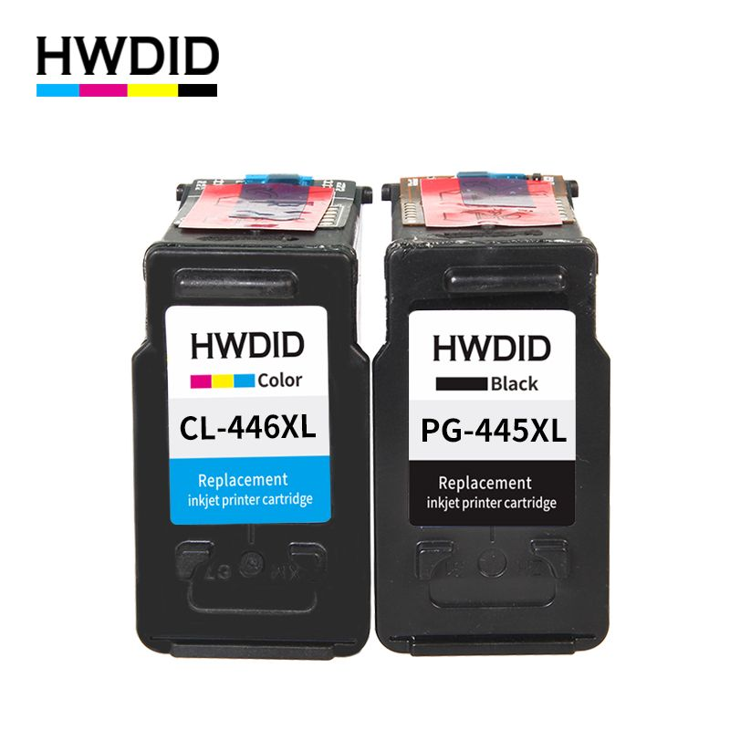 2PK pg445 pg 445 cl 446 xl ink cartridge for Canon PG-445 CL-446 compatible for Canon PIXMA MX494 MG 2440 2540 2940 MX494 IP2840
