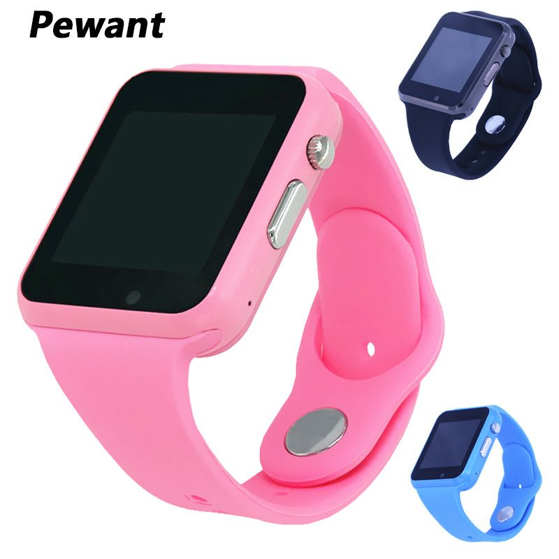 2018 Pewant W88 Smart Watch Children Support Passometer SIM TF Camera Android Baby Smartwatch For Kids Better Than Q100 Q528 Q90