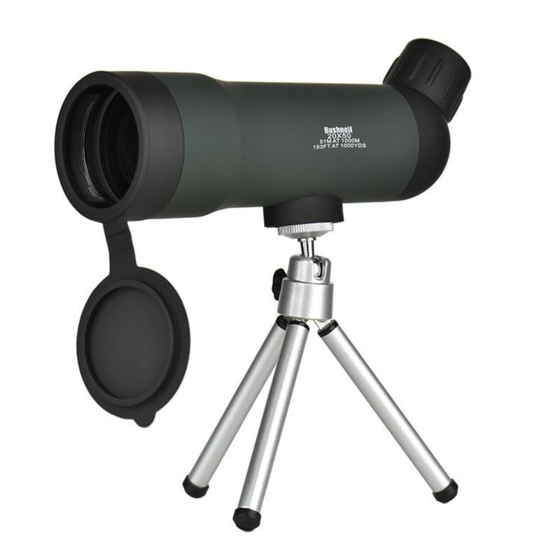 Mini 20x50 Zoom HD Outdoor Monocular Telescope Night Version Spotting Scope With Portable Tripod