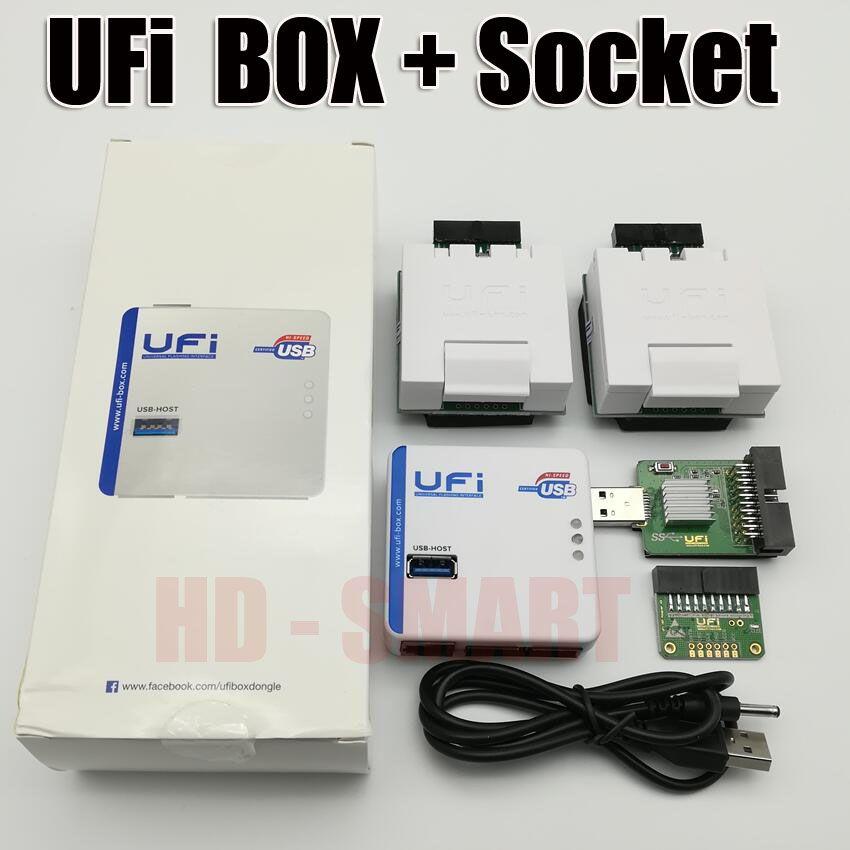 2018 new original UFI Box power Ufi Box ful EMMC Service Tool Read EMMC user data, as well as repair, resize, format