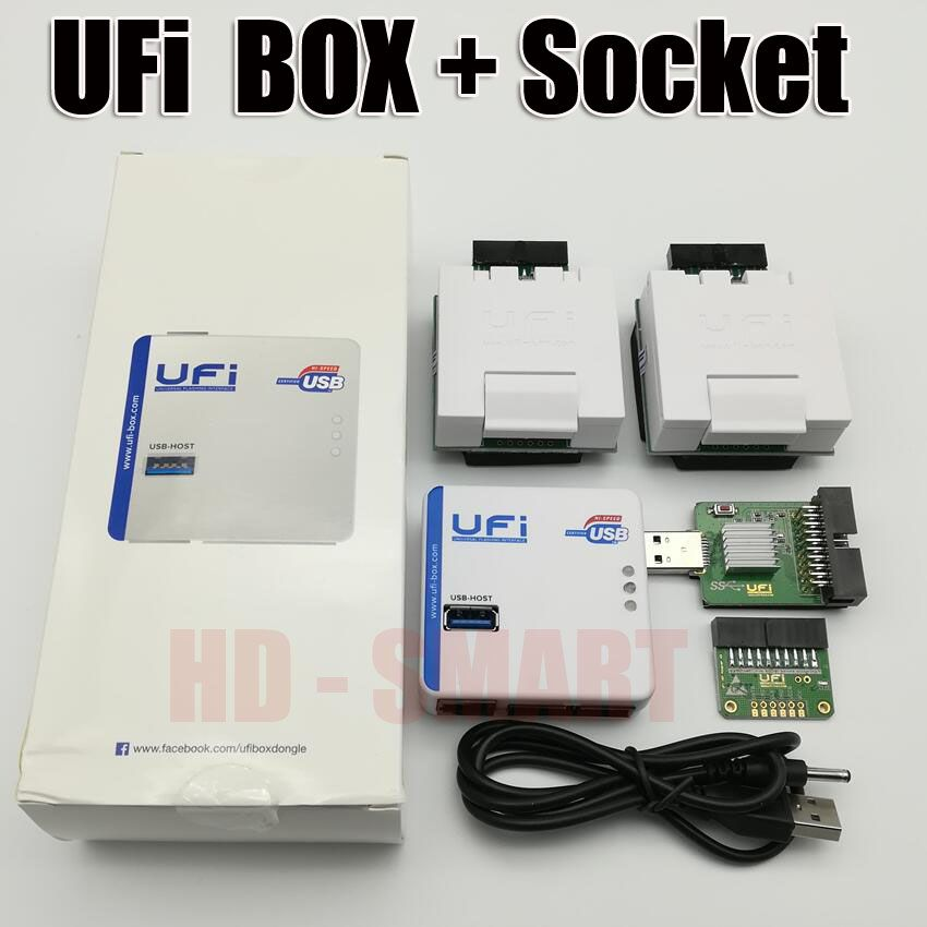 2019 new original UFI Box power Ufi Box ful EMMC Service Tool Read EMMC user data, as well as repair, resize, format