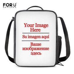 FORUDESIGNS Cool Thermal Lunch Bag 3D Animal Print Insulated Food Bag for Kids Boys Girls Women Picnic Cooler Bag Bolsa Lonchera