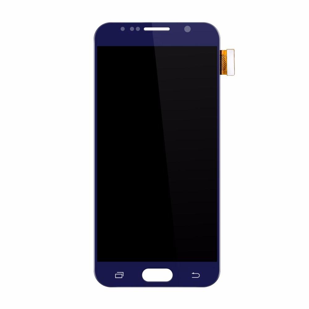 Für Samsung Galaxy S6 G920 G920F LCDS Display LCD Display Touchscreen Digitizer Montage Pantalla Replacemet Gold/Dunkelblau