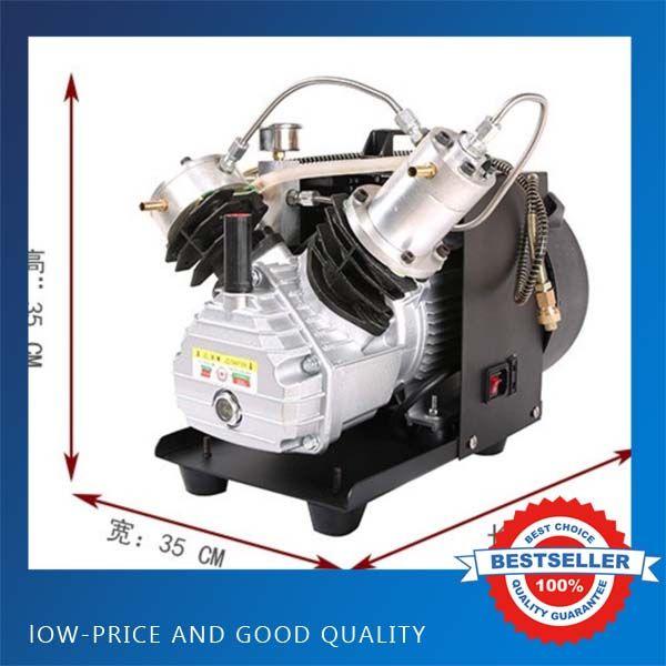 2.2KW 220V 50HZ Electric High Pressure PCP Rifle Air Pump Water Cooling Airgun Scuba Air Compressor