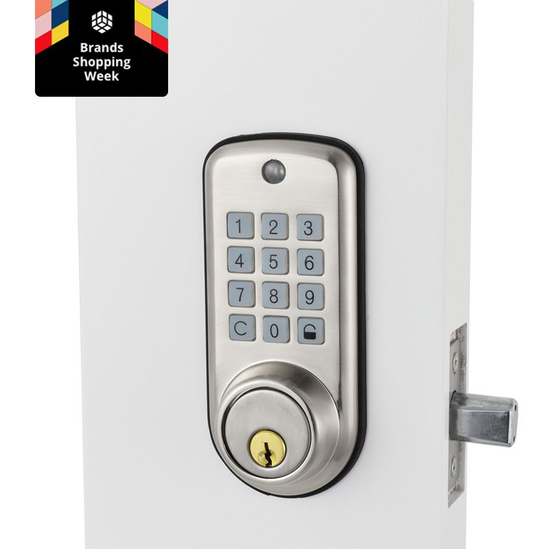 Cheap smart Home Digital Door Lock, Waterproof Intelligent Keyless Password Pin Code Door Lock Electronic Deadbolt Lock