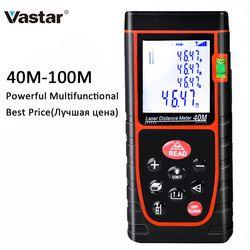 Vastar Laser Distance Meter 40M 60M 80M 100M Digital Laser Rangefinder Tape Range Finder Build Laser Measure Device Test Tool