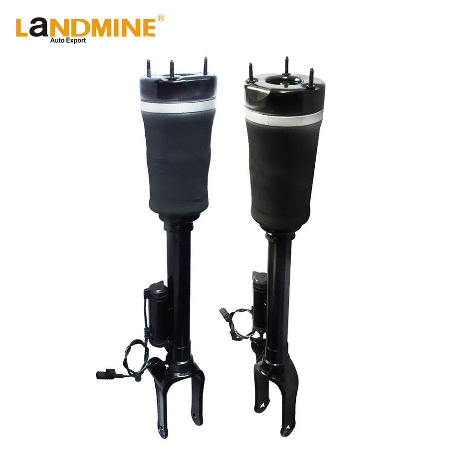 Free Shipping 2PCS W164 Mercedes ML X164 GL Front Shock Absorber With Sensor Suspension Air Ride Air Spring 1643204613