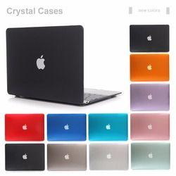 Vogroun nuevo caso cristalino transparente para Apple MacBook Air pro retina 11 12 13 15 Portátil Bolsa de la cubierta para libro de Mac 13.3 pulgadas