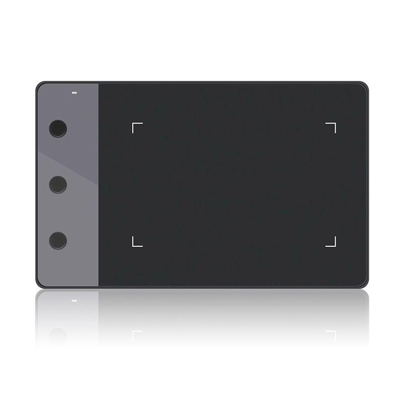 Huion H420 tablette graphique avec 3 touches Express 2048 bloc-notes de sensibilité à la pression avec dix plumes de stylo supplémentaires (parfait pour osu)