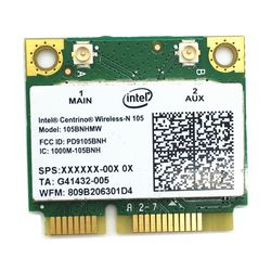 Untuk intel centrino wireless-n 105 105 bnhmw wi-fi 802.11n mini pci express adapter 802.11b/g/n 150 mbps