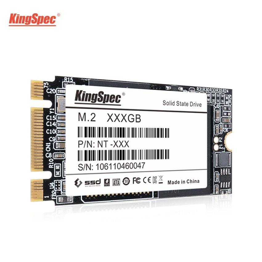 KingSpec M.2 500GB SSD 22*42mm SATA III 6Gb/s NT-512 M2 SSD 512GB Internal HDD Hard Drive Disk for Laptops/PC/Desktops/Ultrabook