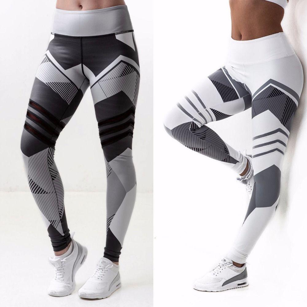 Taille haute Leggings Femmes Sexy Hip Push Up Pantalon Legging Jegging Gothique Leggins Jeggings Legins 2018 Automne D'été De Mode