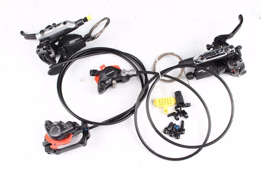 Shimano XT M785 & M675 Mountainbike fahrrad vorne Hydraulische DISC BREMSE mit m615 ispec-b shifter 2/3 geschwindigkeit shifter