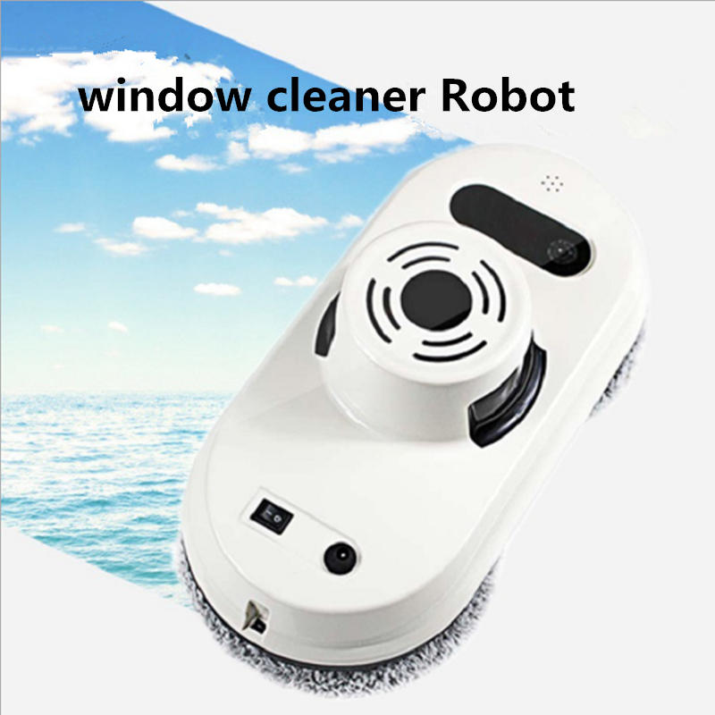 Remote Control Magnetic Window Glass Cleaner Robot Intelligent Automatic Window Cleaning Robot