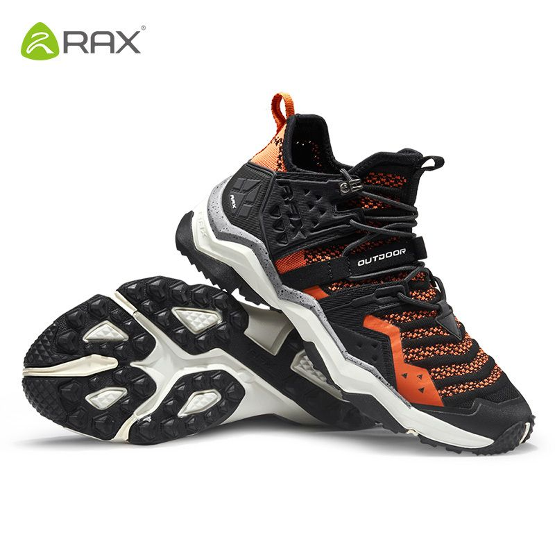 Rax Herren Atmungs Mountain Stiefel Wanderschuhe Outdoor Trekking Stiefel Mens Sports Turnschuhe Slip-beständig Aufwachen Wandern Schuhe