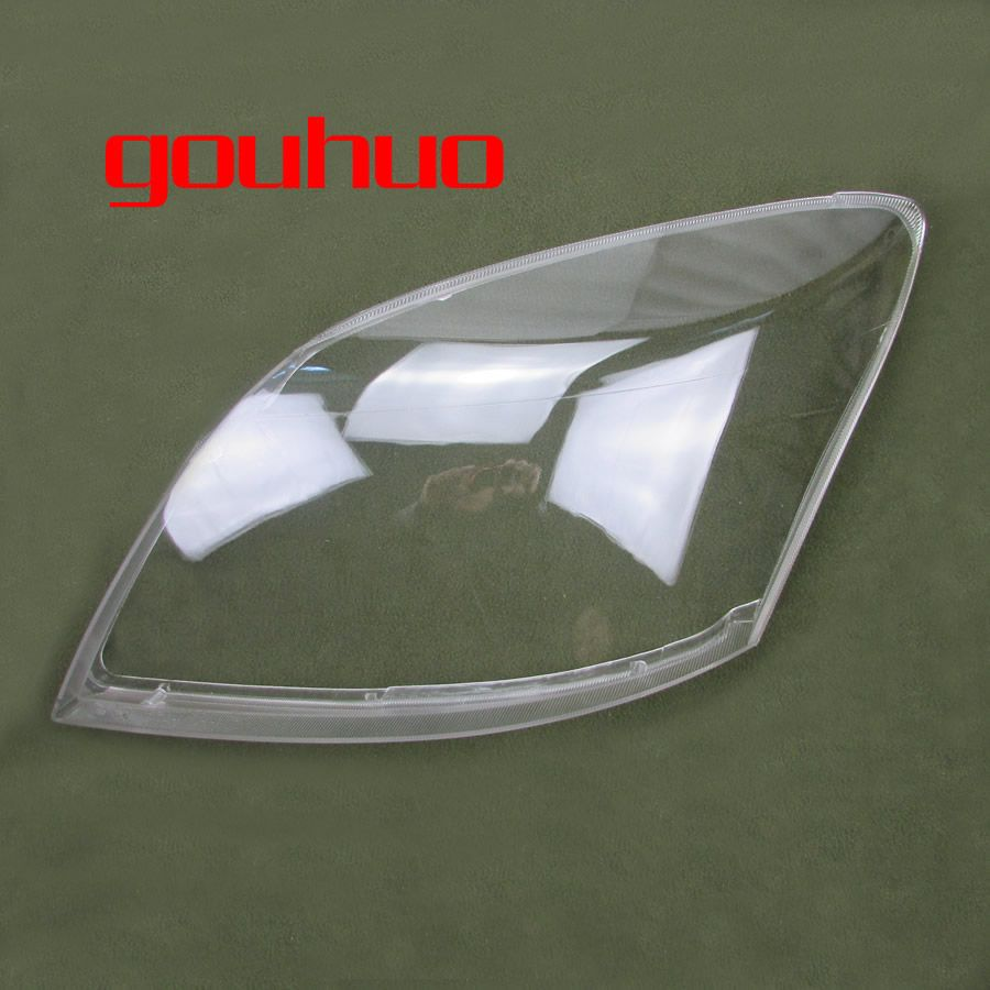 front headlight lamp shade  headlight transparent cover lampshade headlamp glass for Great Wall Hover Haval H3 2005-2013 2pcs