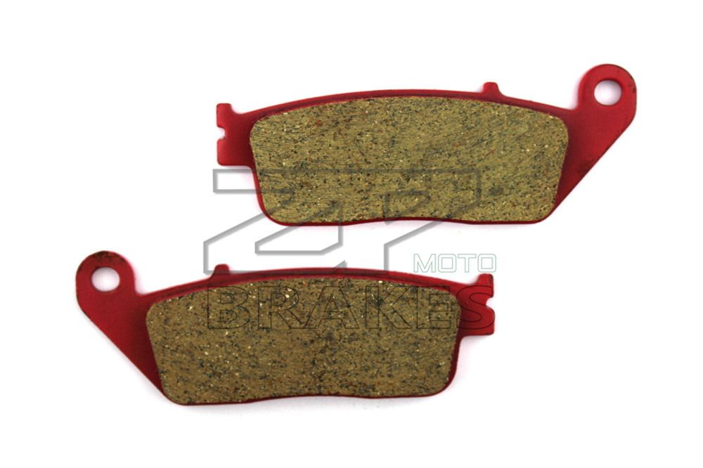 Motorcycle Parts Brake Pads Fit HONDA VT 250 FL Spada/Castel 1988-1990 Front New Red Carbon Ceramic Free shipping
