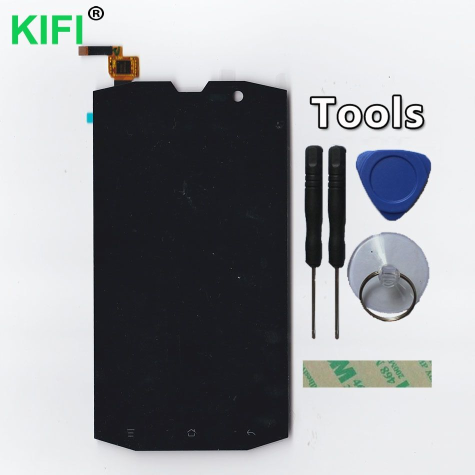 KIFI 100% QC PASS LCD Display + Touch Screen Digitizer Glass Panel For AGM Stone 5s AGM A8