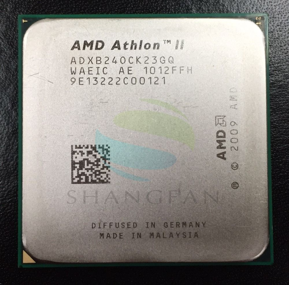 Free shipping for AMD Athlon  X2 240 X2-240  2.8GHz Dual-Core CPU Processor ADX240OCK23GM ADX240OCK23GQ Socket AM3 938pin