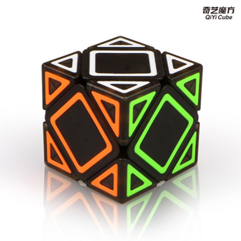 Livraison directe Cube néo biais Cube vitesse pour Magico Cubes Antistress Puzzle Cubo Mágico autocollant pour enfants jouets éducatifs pour adultes