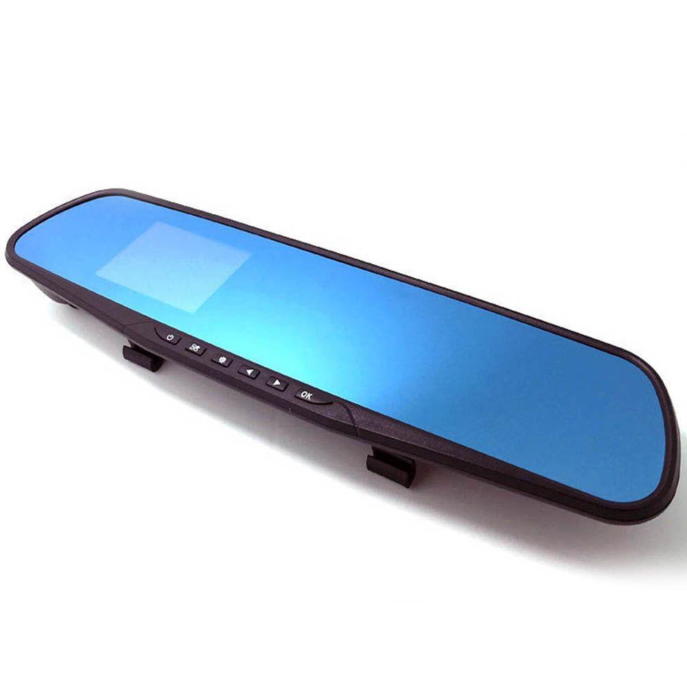 Горячий автомобиль ЖК-сзади зеркало заднего вида Мониторы Камера CCD Видео Авто Парковочные системы led Ночное видение Реверсивный 30*8*1 см