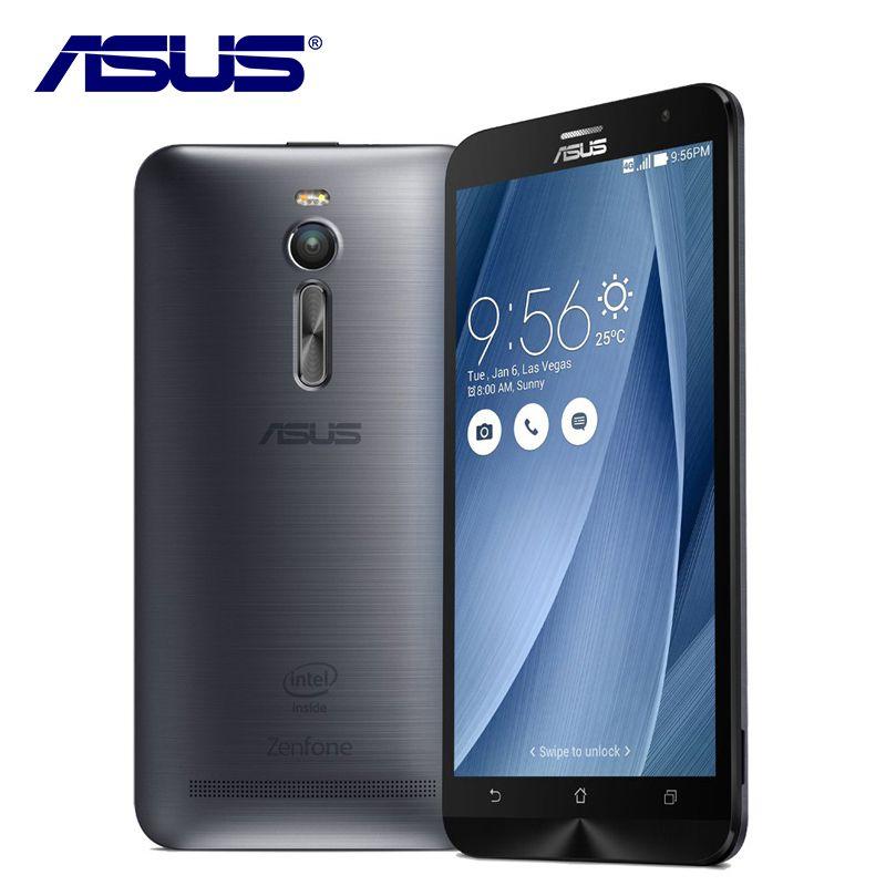 Новый оригинальный ASUS Zenfone 2 ze551ml мобильный телефон Android 4 ГБ Оперативная память 32 ГБ Встроенная память 5.5 дюймов 3000 мАч 13MP 4 ядра LTE 4 г смартфон