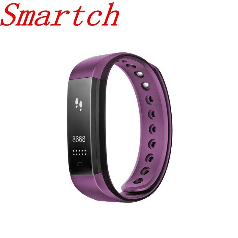 Smartch ID115 HR Plus Smart Band Bluetooth GPS Sport Smartband Wasserdicht Armband Herzfrequenz Armband Uhr Für IOS Android