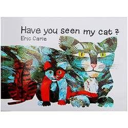 Apakah Anda Melihat Kucing Saya? oleh Eric Carle Gambar Buku Buku Cerita Kartu Pembelajaran Pendidikan Bahasa Inggris Untuk Anak-anak Anak-anak Bayi Hadiah