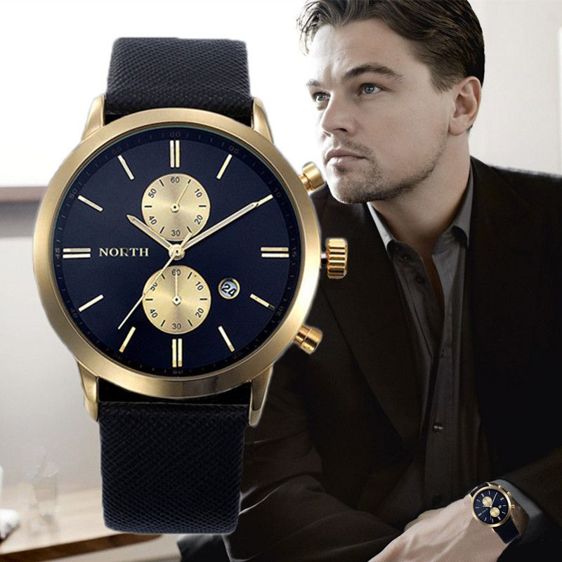 2017 Mens Watches Top Luxury Brand Quartz Watch Casual Leather Sports Wristwatch <font><b>Montre</b></font> Homme Male Clock Relogio Masculino