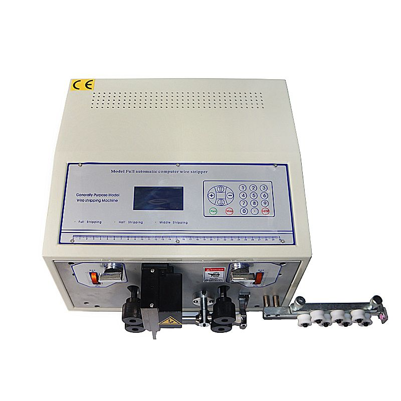 SWT-508E Automatische streifen draht maschine skinning schneiden draht computer streifen abisolieren maschine 0,1 zu 8mm
