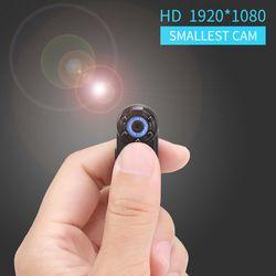 Smallest DV 1080P Full HD Mini camera Mini Cam Mini Camcorders Micro Infrared Night Vision Motion Detection Camera DVR