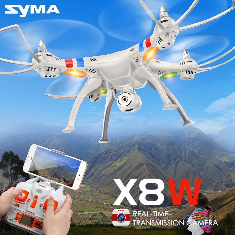 SYMA X8C X8W X8G 2.4 Г 4-КАНАЛЬНЫЙ Профессиональный Вертолет FPV квадрокоптер С 2-МЕГАПИКСЕЛЬНАЯ Камера HD Wifi в Режиме реального времени Передавать UFO ...